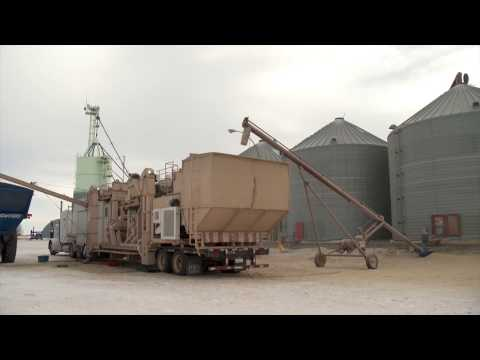 Mobile Grain Cleaning System