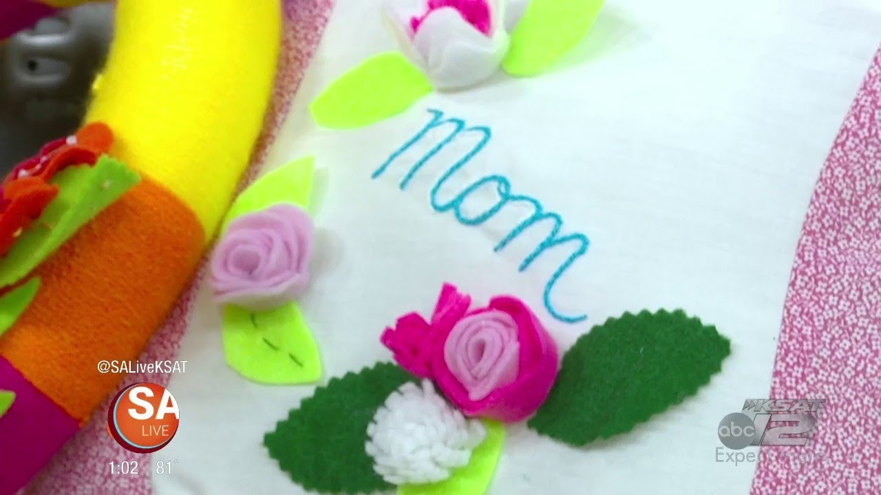 Diy Mother S Day Sewing Gift Ideas Sa Live Ksat 12 Youtube