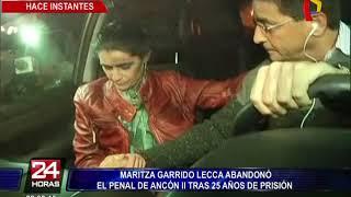 Maritza Garrido Lecca: así fue su salida del penal Ancón II tras 25 años de prisión (1/3)