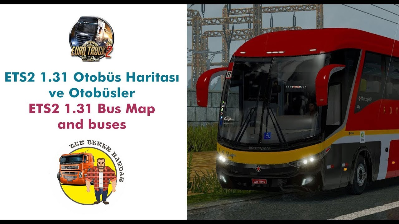 Bus Stations Updated for 1 31, 1 30 | ETS 2 mods