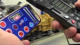 Lionel's LEGACY Bluetooth Control - Demo