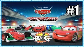 Disney Pixar Cars 2 - Lightning Speed | Beginner Cup | #1
