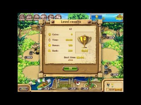 Farm Frenzy Gone Fishing Only GOLD (level 62) Веселая ферма Рыбный день (Уровень 62) Золото