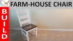 Farm-house Dining Chair - Design 1