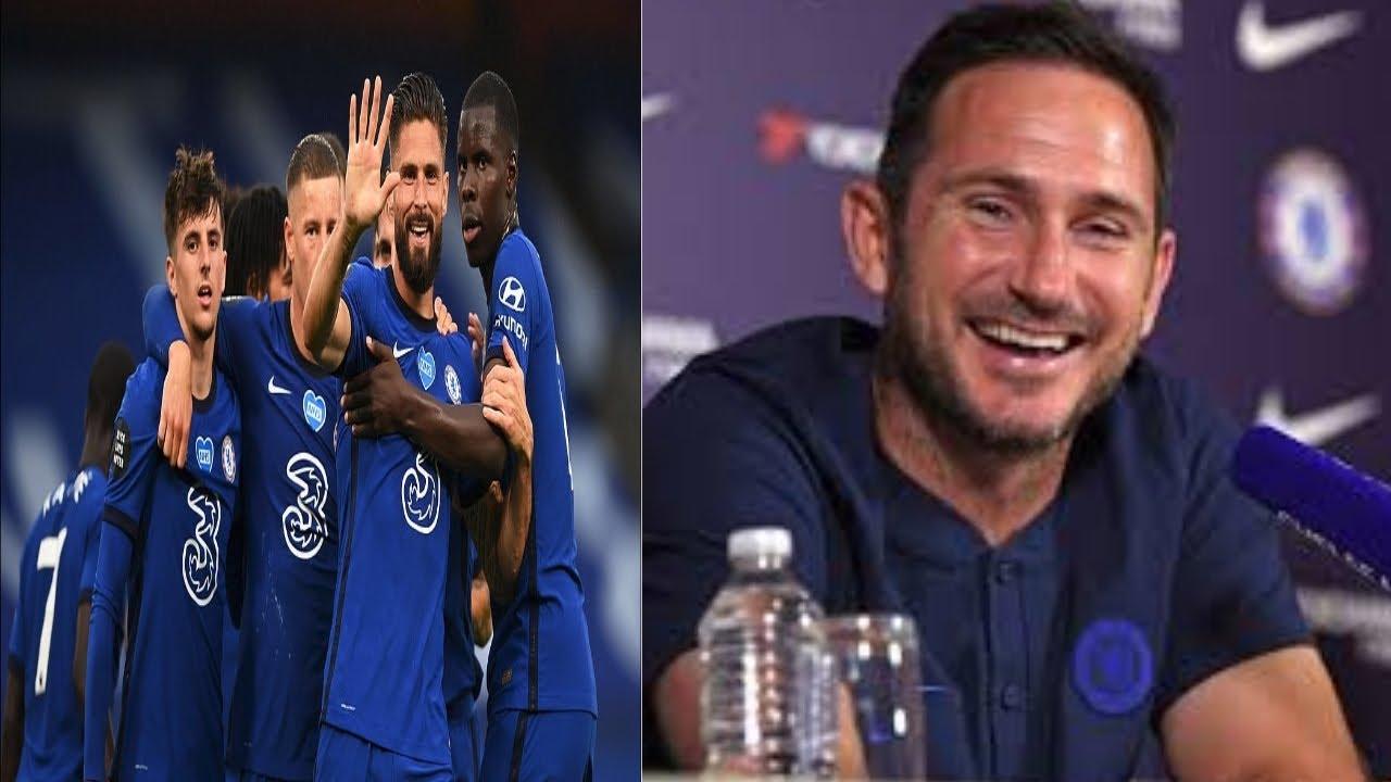 Download   Chelsea 3-0 Watford   Frank Lampard Jorginho omission Billy Gilmour Barkley goal Willian Penalty