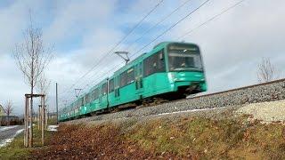 U-Bahn Frankfurt (Main) - U2 / U9 zwischen Abzweig Kalbach und Riedberg (2012) [1080p50]