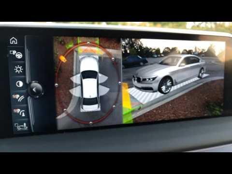 2016 BMW 750 7 Series camera demo