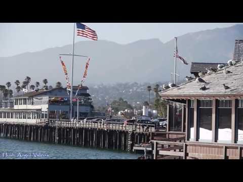 Stearns Wharf Boardwalk Santa Barbara