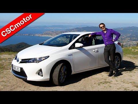Toyota Auris Híbrido   2012 - 2015   Prueba en carretera