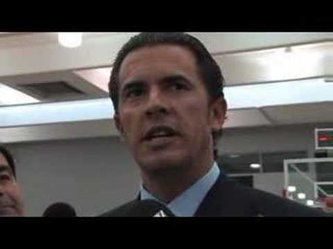 Bucks Media Day 07 08 Larry Harris Interview Youtube