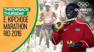 Eliud Kipchoge wins Men's Marathon @ Rio 2016 | Throwback Thursday