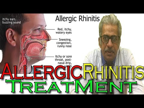 Allergic Rhinitis in Hindi – Discussion and Treatment in Homeopathy by Dr P.S. Tiwari