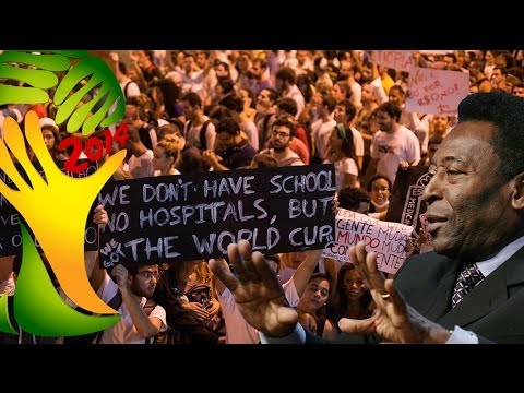 World Cup 2014 Protests, Poverty & Pelé
