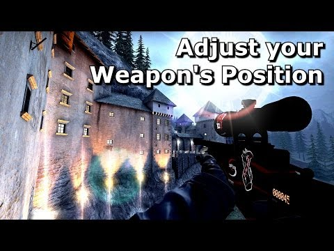 CS:GO - Optimal Weapon Position