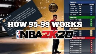 NBA 2K20 99 OVERALL SYSTEM EXPLAINED! +4 ALL ATTRIBUTES TO ALL STATS!!!