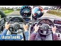 BMW 5 Series 540i xDrive vs Mercedes Benz CLS 450 4Matic | 0-250km/h & TOP SPEED POV by AutoTopNL