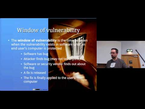 Software Vulnerabilities: Computer Security Lectures 2014/15 S2