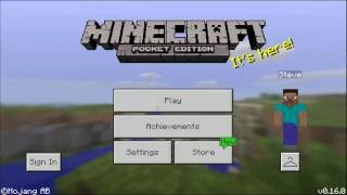 how to import map for minecraft pe pocket edition