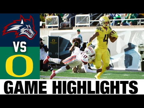 Stony Brook vs #4 Oregon | Week 3 | 2021 College Football