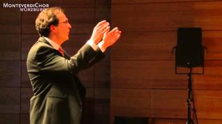 Max Reger: Lebewohl / MonteverdiMännerchor - 1. Preis Deutscher Chorwettbewerb 2014