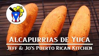 Alcapurrias de Yuca - Eąsy Puerto Rican Recipe