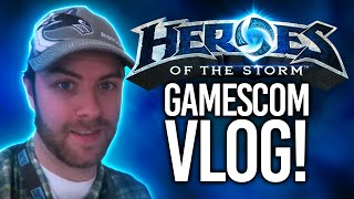 Heroes of the Storm - Brawlmania at Gamescom Vlog!