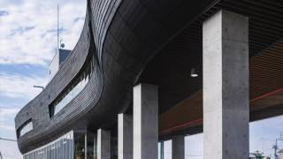 新建築2017年7月号|みなと交流センター|原広司+アトリエ・ファイ建築研究所