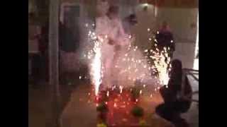 Прикольная свадьба, АХах, Спецэффекты в румынии на свадьбе.
