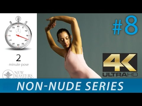 Practice Drawing From Life - Figure Drawing Reference Images (NON-NUDE SERIES DLDS #8) In 4K