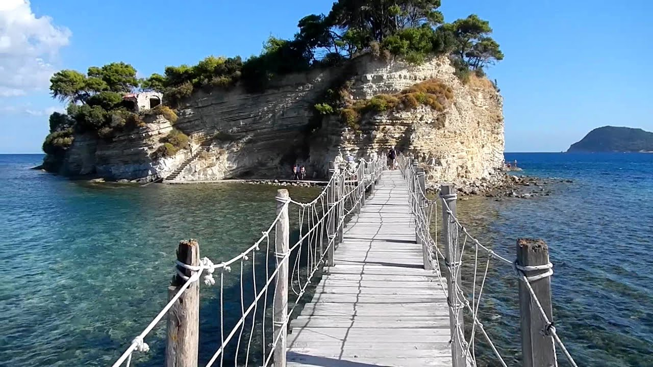 Zakynthos - Agios Sostis island 2012 - YouTube