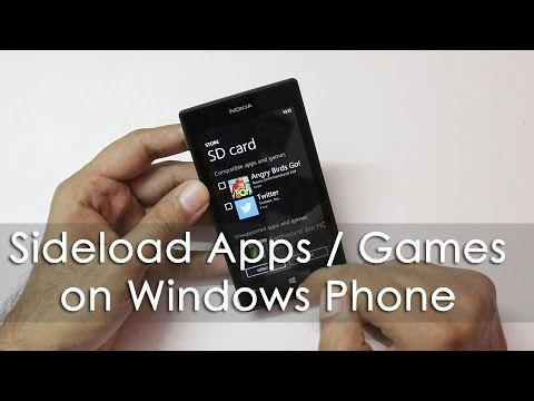 Sideload / Install Games & Apps on Windows Phone 8 via SD ...