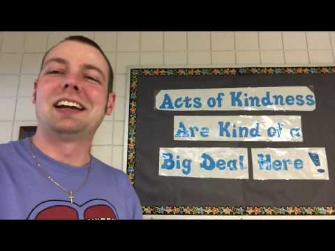 Mr. Peace Visits Hickory Woods Elementary School in Novi, Michigan