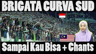 Download Lagu BRIGATA CURVA SUD - SAMPAI KAU BISA (lyrics) - ULTRAS SLEMAN   Malay Girl Reacts mp3