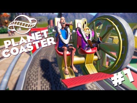 Planet Coaster | Открываем свой парк! - #1