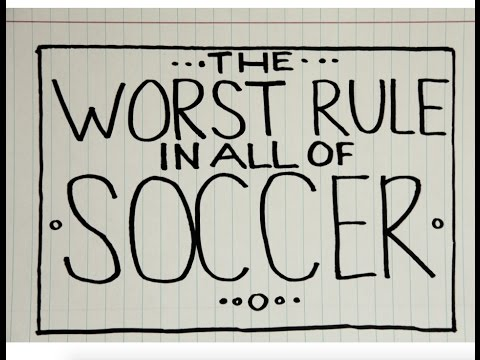 The Worst Rule In Soccer