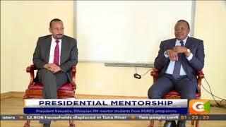 Gambar cover Ethiopian prime minister Abiy Ahmed amazed by president Kenyatta's mentorship program