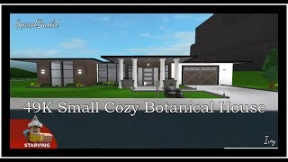 Small One Story Small Roblox Bloxburg House Ideas