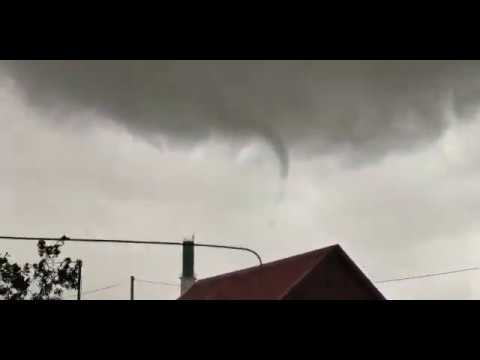 Ураган в Заглядино. Оренбургская область. Начало