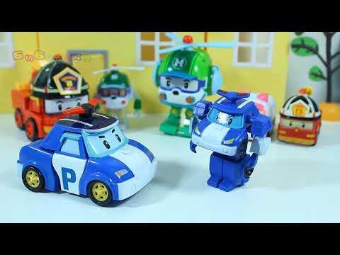 Видео с игрушками Открываем сюрпризы Свинка Пепа Игрушки Робокар Поли  Молния Маквин