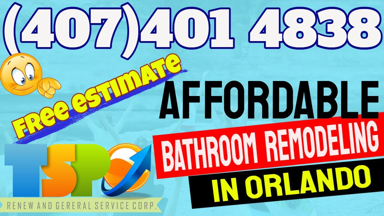 Affordable Bathroom Remodeling Orlando FL - Find Here an ...