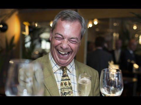 Nigel Farage Says Adios to José Manuel (Barroso)