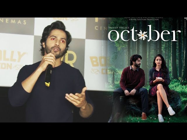 Emotional Varun Dhawan Breaks Down While Talking About OCTOBER