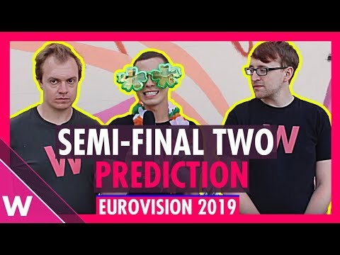 Eurovision 2019: Semi-Final 2 qualifiers (Prediction before jury show)
