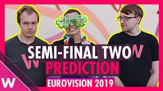Eurovision 2019: Semi-Final 2 qualifiers (Prediction before jury show)