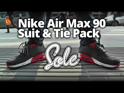Nike Air Max Lunar90 'Suit & Tie' Collection Available Now