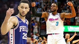 Embiid Out For Game 1! Heat vs 76ers Prediction! 2018 NBA Playoffs