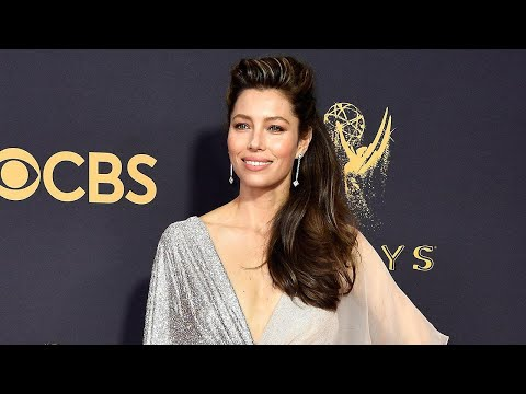Emmys 2017: Jessica Biel Hits the Red Carpet Solo -- Why Justin Timberlake Couldn't Be There
