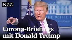Donald Trumps tägliche Corona-Briefings