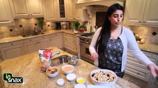 In Snax Recipe: Apple & Berry Crisp