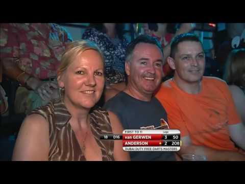 Michael van Gerwen v Gary Anderson ᴴᴰ Dubai Duty Free Darts Masters 2016 | Final